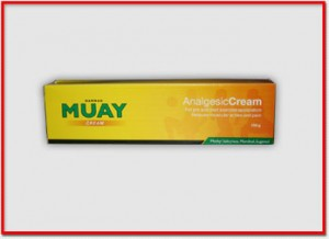 Muay Thai Boxing Massage Cream